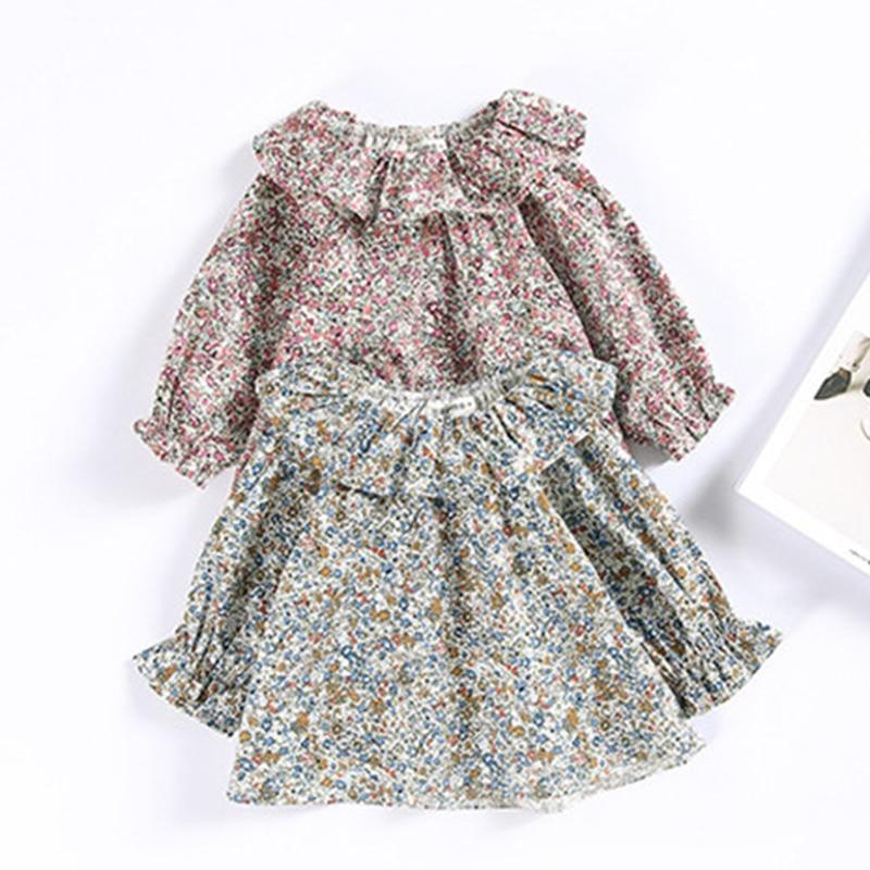 1-2y Kleinkind Baby Mädchen Tops Kinder T Shirt 2019 Frühling Sommer Kinder Bluse Für Mädchen Kleidung Blume Drucken Baby Outwear Zeug