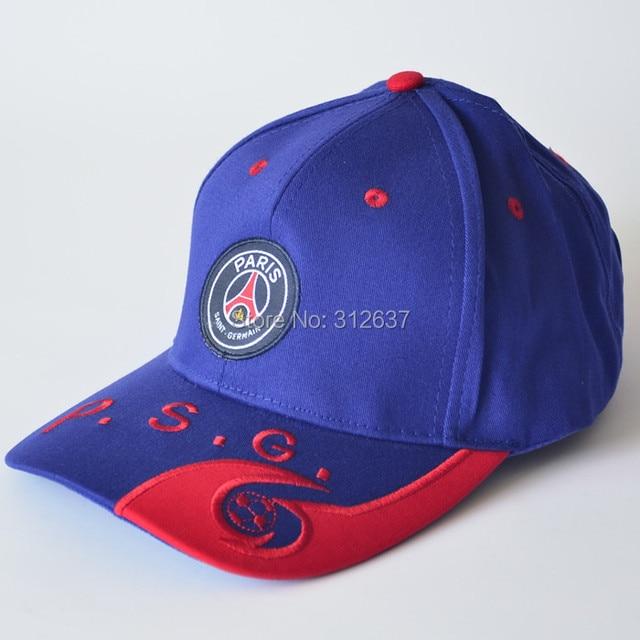 Free shipping high quality Paris Saint-Germain cotton caps PSG hats  souvenirs factory direct wholesale 0499cf9623e