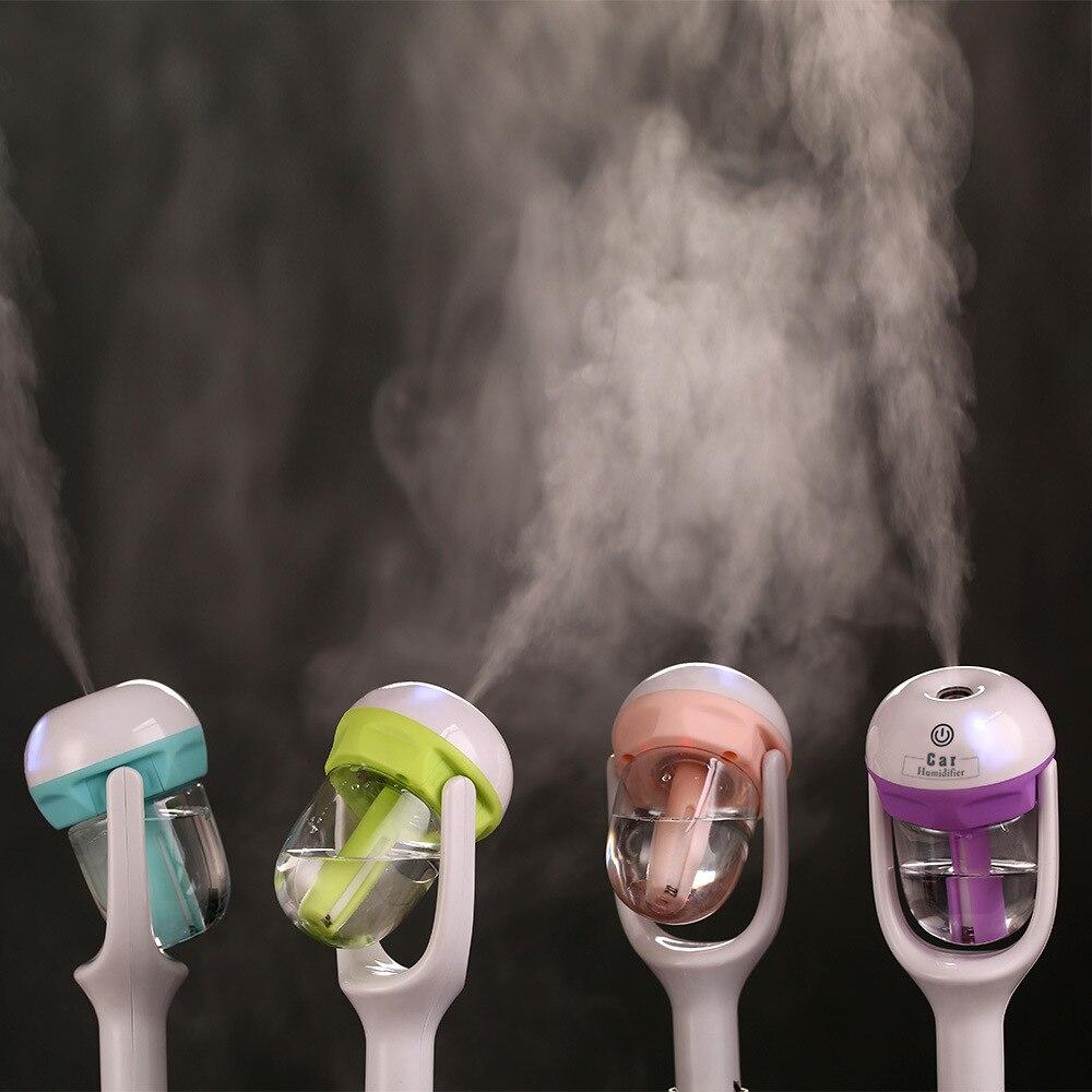 Car Aroma Diffuser Humidifier - Portable Mini Car Aromatherapy Humidifier Air Diffuser Purifier essential oil diffuser