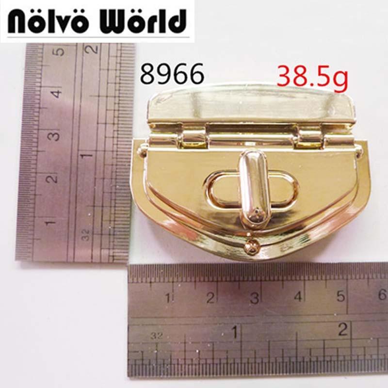 Light Gold Lock Handbag Bag shoulder bag case Lock buckle Accessories Purse Snap Clasps,Closure Lock buckles nokia 515 light gold