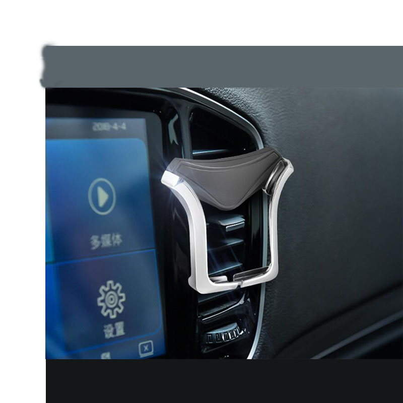 CDCOTN Car Air Outlet Mobile Phone Holder Gravity U-shaped Bracket Automatic Clip-type GPS Accessories