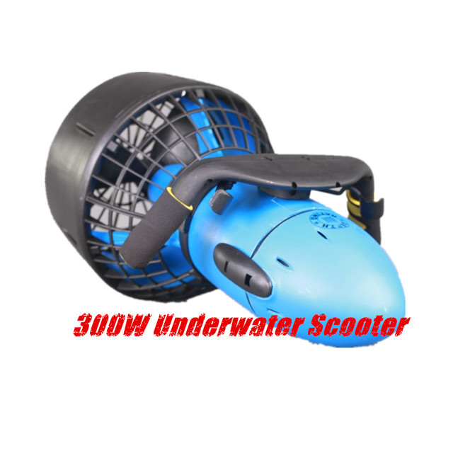 Free shipping Sea 300W Scooter Dual Speed  Water propeller Diving Pool Scooter With Battery Water Sports Equipment 1