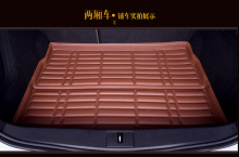 2016 new trunk mat case automobile for HONDA Fit Odyssey CR-V ACCORD CIVIC stream CITY leather pad free shipping brown black