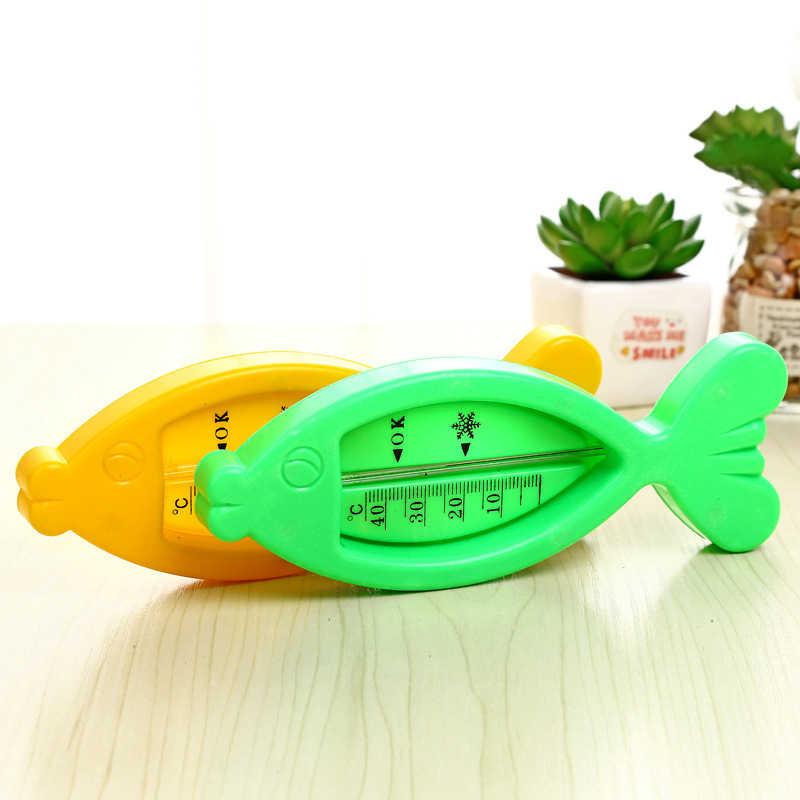 Forma de peixe Termômetro de Água do Banho Do Bebê Bebês Criança Crianças Brinquedo de Banho Infantil Sensor De Água Do Chuveiro Temperatura Termômetro