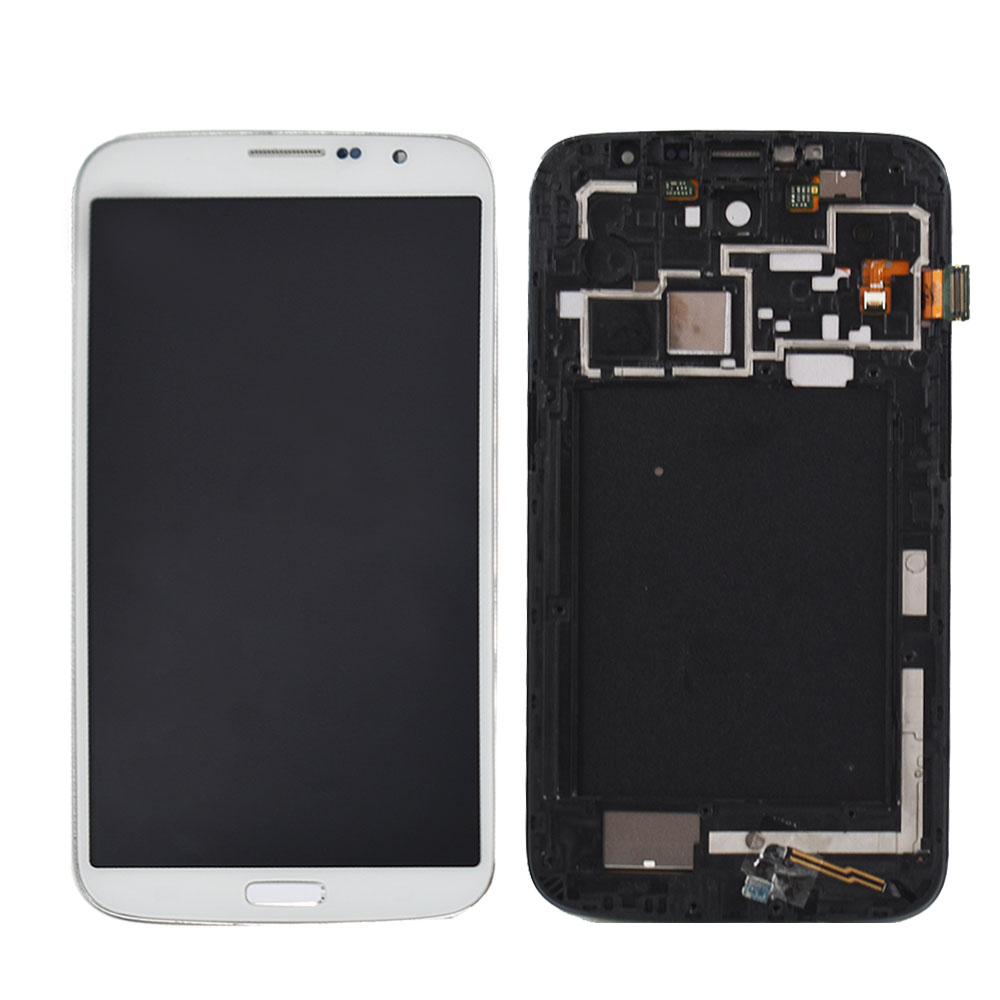 LCD Display Touch Screen Assembly+frame For <font><b>Samsung</b></font> Galaxy Mega 6.3 <font><b>i9200</b></font> i527 image