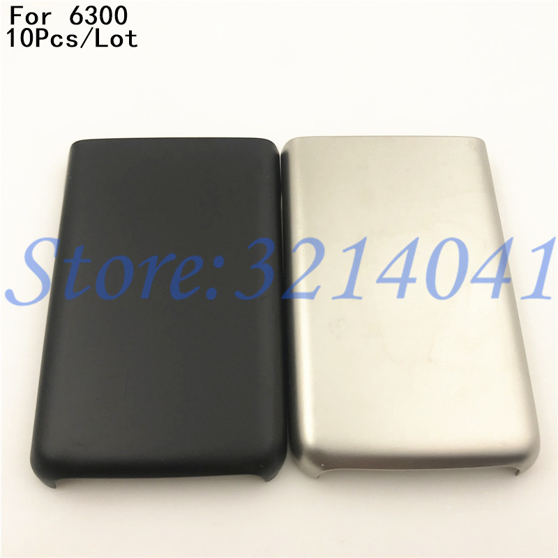 10Pcs/Lot Good quality Original Back Metal Battery Cover For <font><b>Nokia</b></font> <font><b>6300</b></font> Battery Back Door Cover Case <font><b>Housing</b></font> image