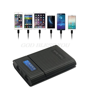 Image 3 - アンチリバース diy 電源銀行ボックス 4 × 18650 バッテリー lcd ディスプレイ充電器 iphone diy 発電所ケーススマートフォン用