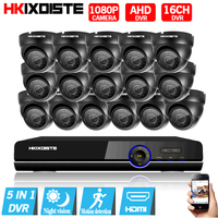 HD 16channel 1080N AHD DVR Kit Video Surveillance Camera Security Corridor Indoor 2MP 1080P Camera
