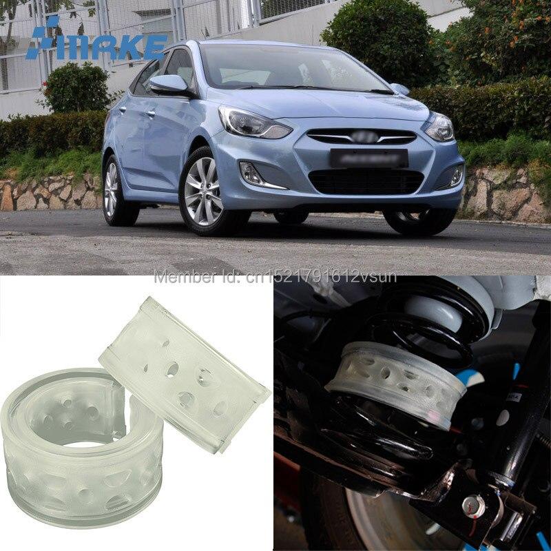 SmRKE Für Hyundai Accent Auto Auto Stoßdämpfer Federpuffer Auto Power Kissen Dämpfer Vorne/Hinten High Qualität SEBS