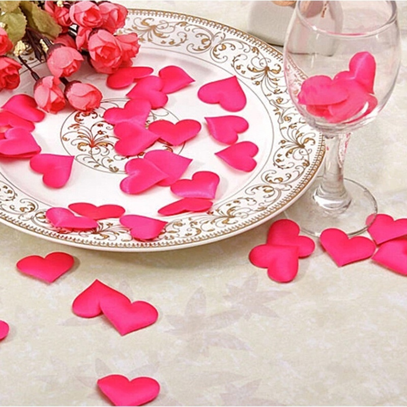 Heart Wedding Table Decorations