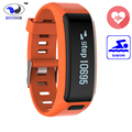 Waterproof Smart Wristband Braclet NO.1 F1 Heart Rate Fitness Tracker Band Bluetooth Pedometer Watch Wristwatch For iOS Android