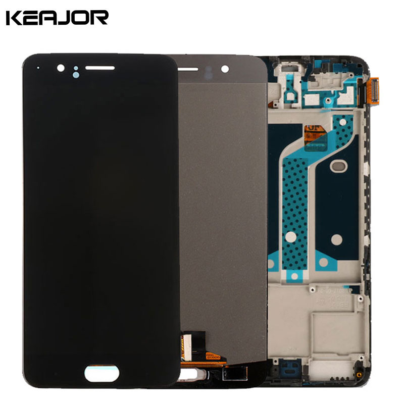 Oneplus 5 Lcd Screen with Frame One plus 5 Five Display Screen 100% Tested Touch Screen Replacement For Oneplus 5 Five 5.5inch
