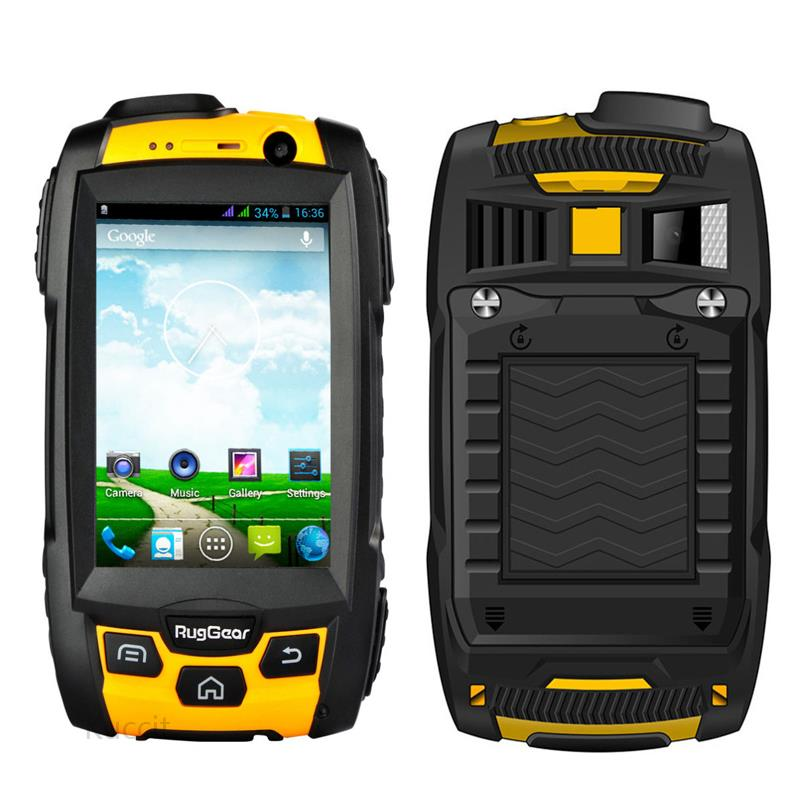 original ruggear rg500 ip68 rugged android waterproof phone smartphone military extreme 3g gps. Black Bedroom Furniture Sets. Home Design Ideas