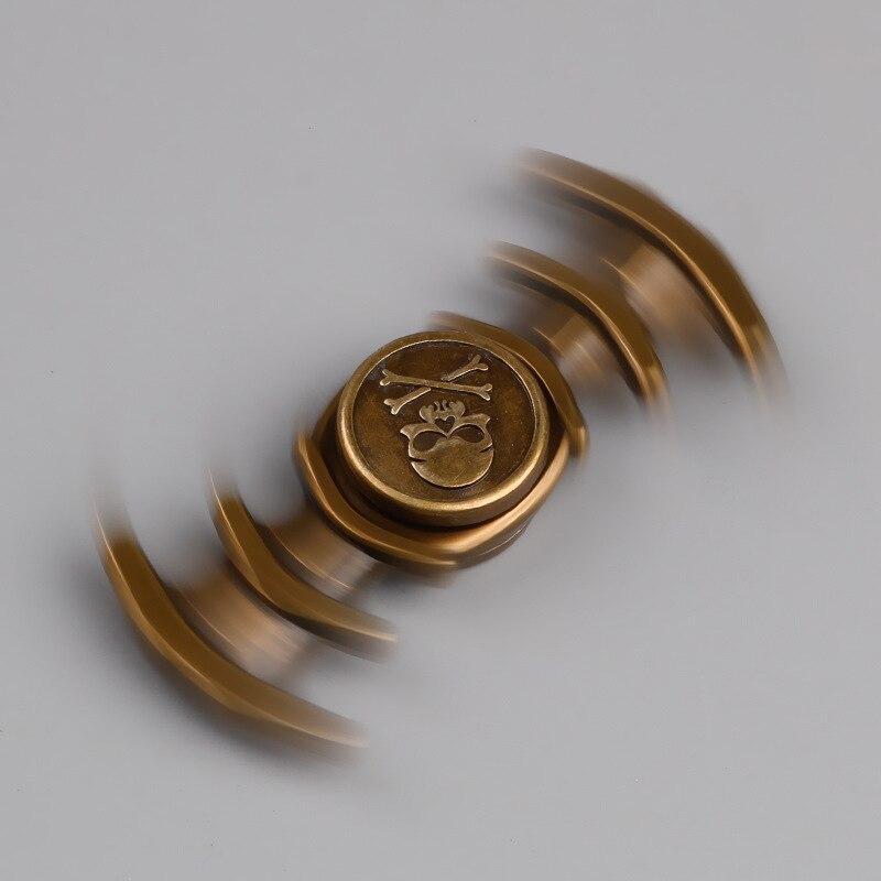 2017 Tri Figet Spinner алюминия Figit блесны сома металла непоседы стресс колеса Керамик ...