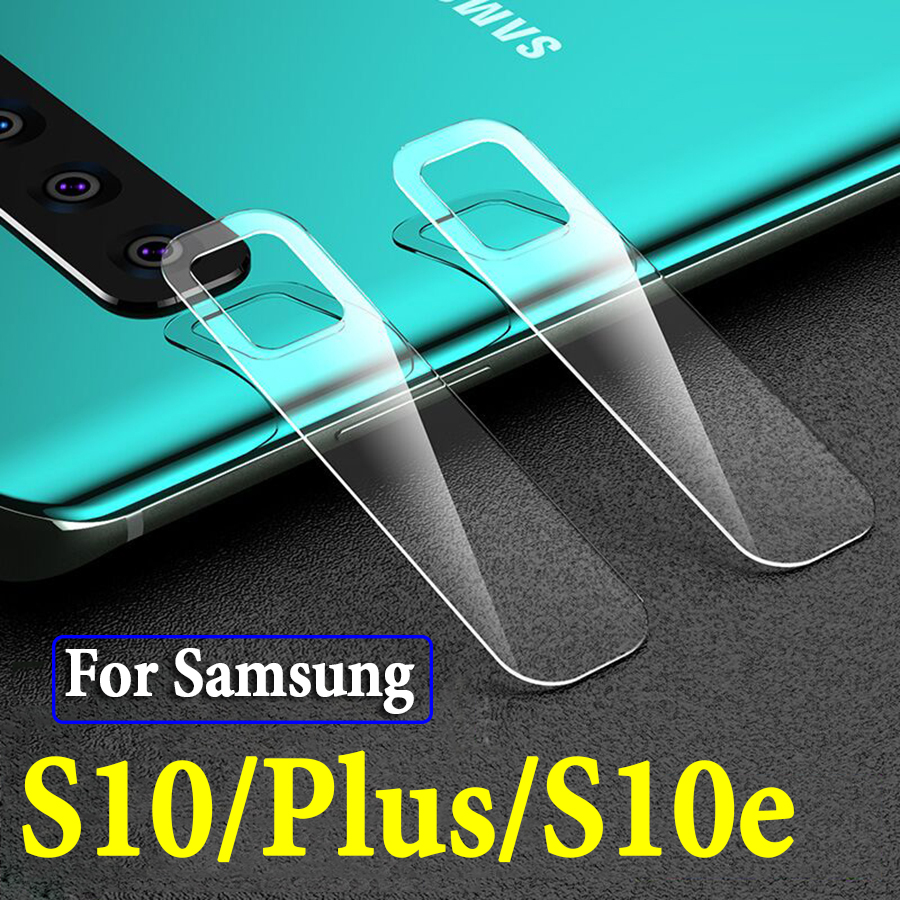 Camera Lens Protective Glass On The For Samsung Galaxy S10 Plus S10e S 10 10e 10s Galaxi Screen Protector Soft Tremp Glaess Case