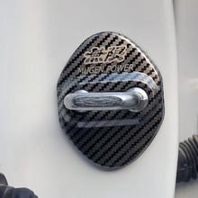 Caso de Fibra De carbono Emblemas Do Carro Auto Para Honda Civic Accord CRV Hrv Jazz Mugen Poder Emblema Adesivos Acessórios Do Carro Styling