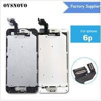 For iPhone 6 plus Screen LCD Replacement Display+Home Button Front Camera Speaker Proximity Sensor Full Digitizer Touch Assembly