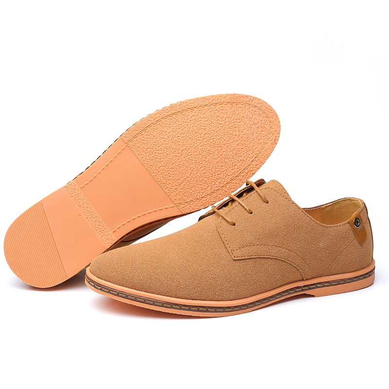 HTB1ijQHX81D3KVjSZFyq6zuFpXaN VESONAL Brand 2019 Spring Suede Leather Men Shoes Oxford Casual Classic Sneakers For Male Comfortable Footwear Big Size 38-46