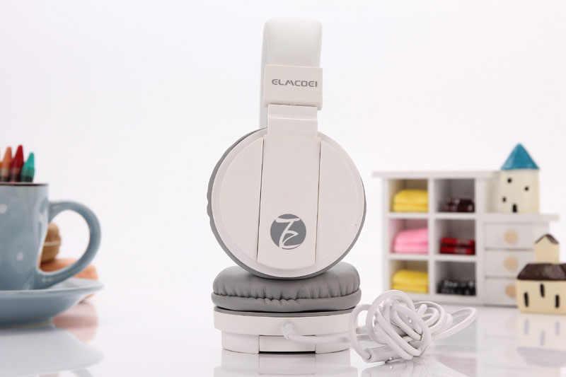 Fashion Leuke Hoofdtelefoon Candy Kleur Opvouwbare Kids Headset met Microfoon Koptelefoon voor Mp3 speler Smartphone Meisje Kinderen Headsets