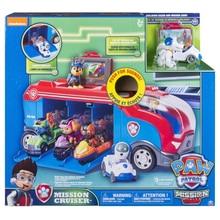 Original Nickelodeon Paw Patrol- Mission Cruiser Spin Master Mission Paw Bus Vehicle Toy Anime Action Figure Toys Kids Gift spin master nickelodeon paw patrol машина трансформер маршал со звуком 16704
