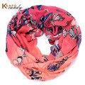Infinito de la bufanda mujeres de la mariposa gris marca flor hijab foulard echarpe foulard femme fulares mujer diseñador sjaals vicose bufandas