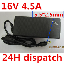 цены 16V 4.5A 5.5*2.5 Power AC Adapter Supply charger FOR IBM ThinkPad T20 T23 T30 T40 T40P T41 T41P T42 T42P T43 T43P