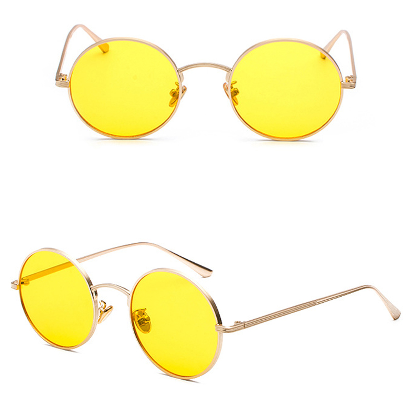 women sunglasses with red lenses detail (10)