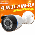 HD 720 P 1080 P AHD Камеры CVI TVI CVBS Гибридный 4 В 1 Водонепроницаемый Ночного Видения 1.0MP 2-МЕГАПИКСЕЛЬНАЯ CCTV Камеры Безопасности Открытый ЭКРАННОЕ Меню