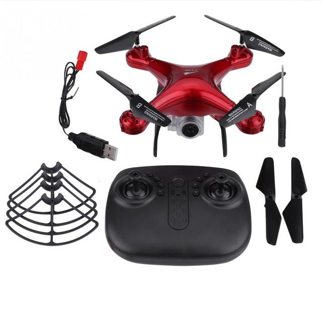 2.4GHz RC Remote Control Quadcopter drones with camera hd 480P 720P 1080P Camera Wifi Transmission Plastic + Metal RC FPV DroneRC Helicopters