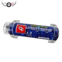 Я Key купить 3,0 фарадный конденсатор одежда высшего качества аудиомагнитолы автомобильные фильтр динамик конденсаторный усилитель Регулято...
