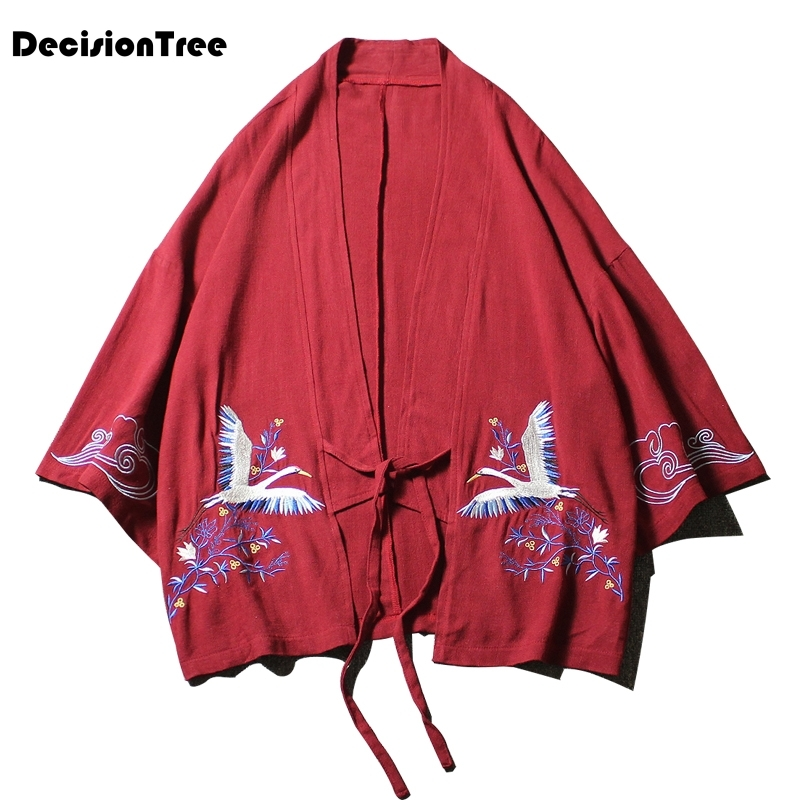 2019 kimono jackets men terry material cotton heather grey high street men 39 s jackets male clothing in Asia amp Pacific Islands Clothing from Novelty amp Special Use