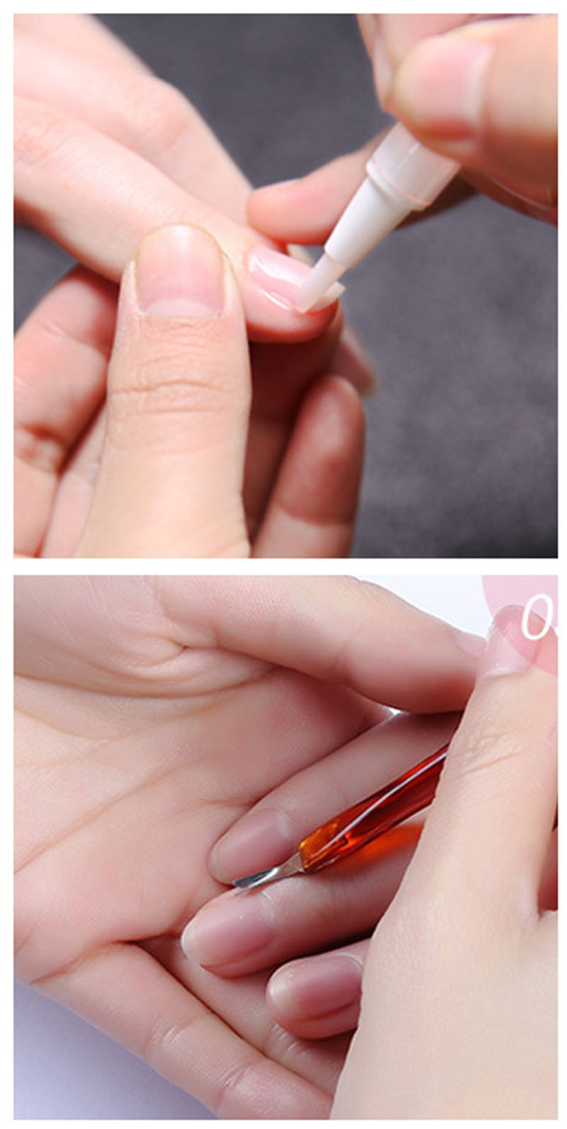 New Cuticle Softener Agent Pen Nutrition Oil Brush Dead Skin Relief ...