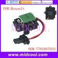 Nuevo uso Blower Motor Resistor OE NO. 7701067033 para Renault Symbol