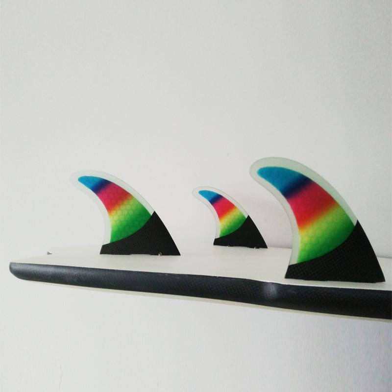 Carbon Fiber FCS / Future Fins Fiberglass G5 Fins Үш - Су спорт түрлері - фото 5