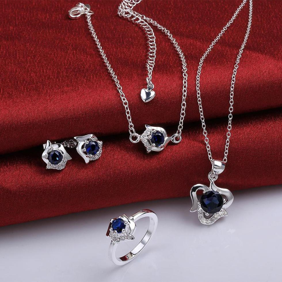 Cheap Wedding Jewelry: IS781 B 2014 Bulk Sale Cheap Bridal Party Jewelry Sets-in
