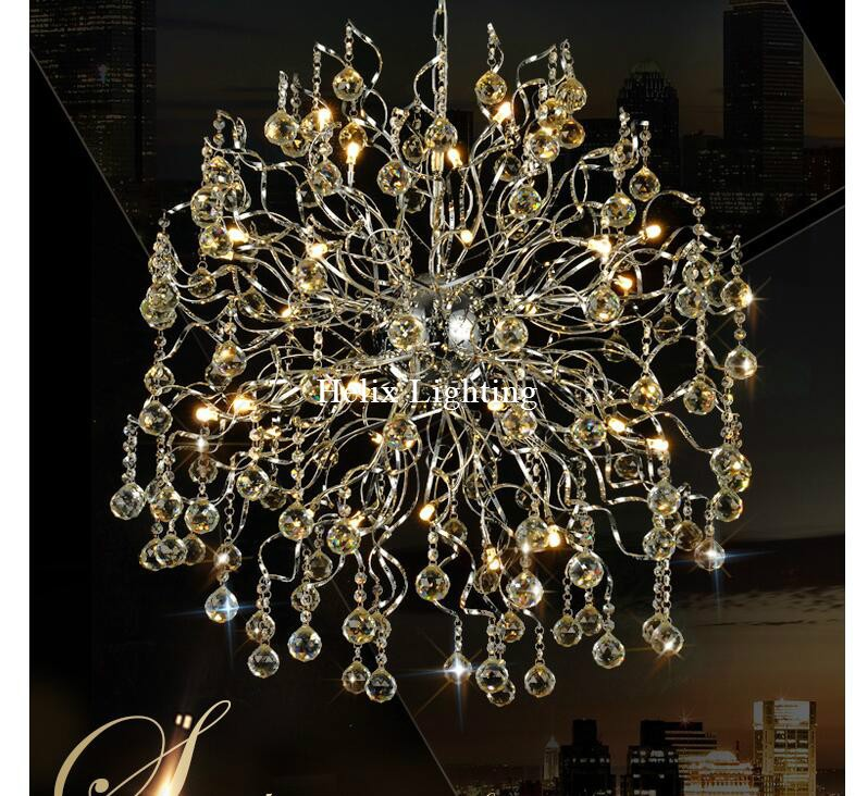 Free Shipping Modern Lighting LED Modern Crystal Pendant lights Lamp AC G4 LED Lustres Pendentes Lustre De Cristal Decoration free shipping modern pendant lights indoor lighting lustres home decoration colorful lamp green yellow blue aluminum for kitchen