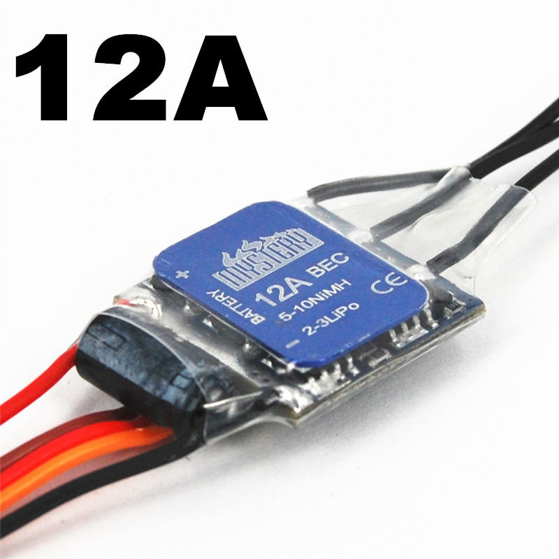 Mystery 2-3S Lipo 12A ESC Programable Brushless Speed Controller ESC For RC Helicopter Airplane mystery cloud 60a brushless without bec esc rc speed controller for rc helicopter rc airplane