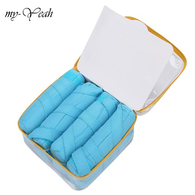 8/16pcs Hair Rollers Sleep Styler Kit Long Cotton Curlers DIY Styling Tools Blue Color Magic Hair Dressing Charming Hairstyle