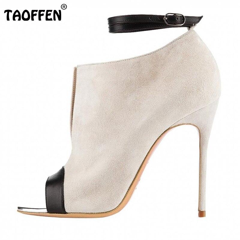 ФОТО Women Thin High Heel Shoes Woman Open Peep Toe Sandals Female Sexy Ankle Strap Heels Footwear Heeled Shoes Size 35-46 B140