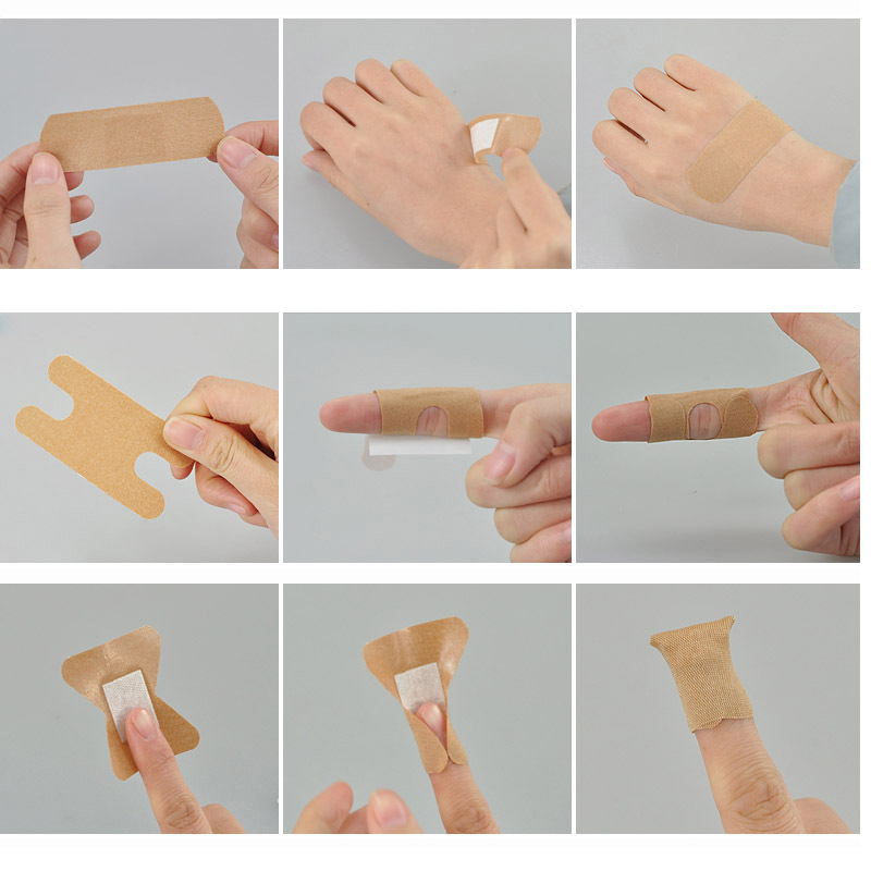 100Pcs/Box Medical Band Aid For Fingertip Joints Large area ...