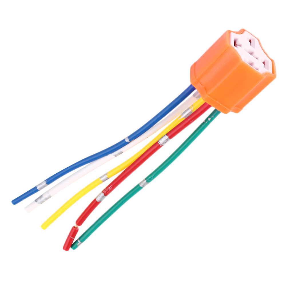 aliexpress com buy relay socket car relay orange plastic aliexpress com buy relay socket car relay orange plastic replacement relay socket harness 5 pin 5 wire for car automotive relay shipping from