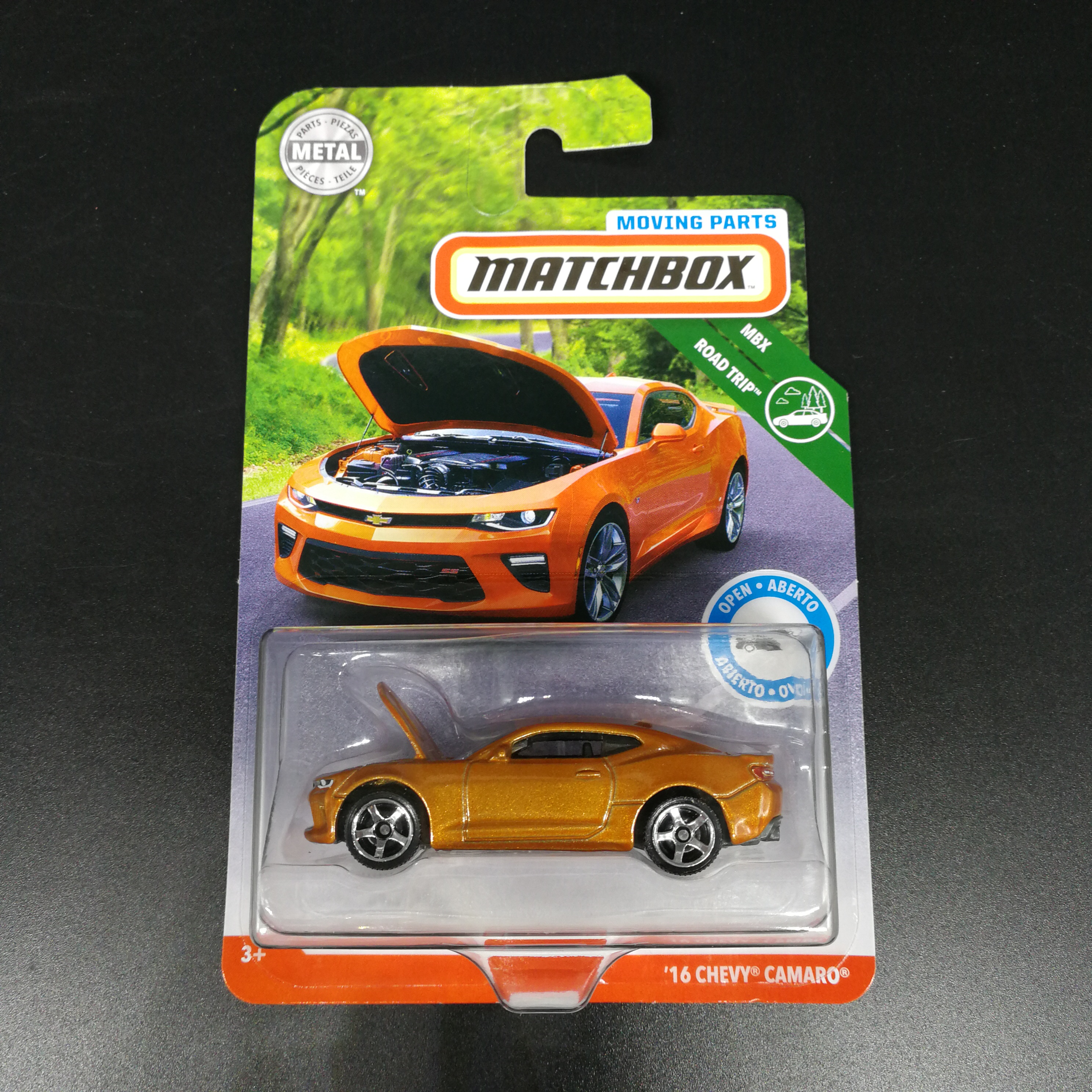 2019  Matchbox Car 1:64 Sports 16 CHEVY CAMARO Metal Material Body Race Car Collection Alloy Car Gift