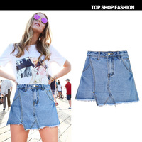 Skirt Skort Under 2018 Female Denim Jeans Hot Cool Summer Shorts Women Bermuda Korean fashion Harajuku High Waist Capris Female