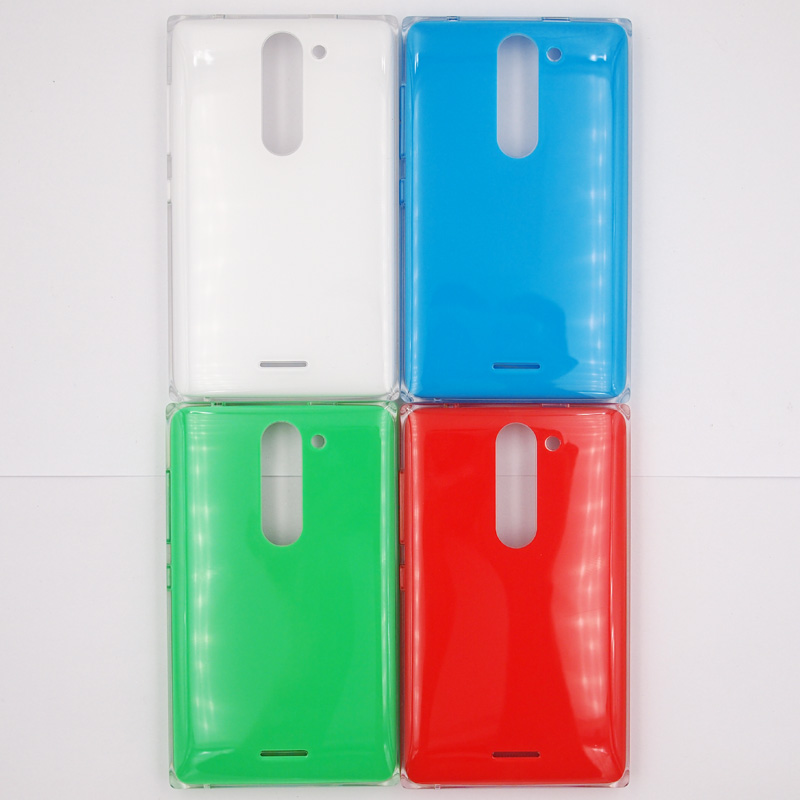 BaanSam New Colorful Battery Door Back Cover Housing Case For Nokia Asha 502 With ...  BaanSam New Col...