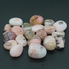 Natural Pink Opal Tumbled Stone Gemstone Rock Mineral Crystal Healing Chakra Meditation Feng Shui Decor Collection