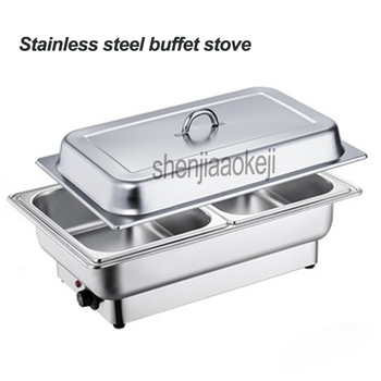 Stainless steel buffet oven Food stove for restaurant / buffet / Hotel high-end venues 220v Electric heating Buffy furnace  600w