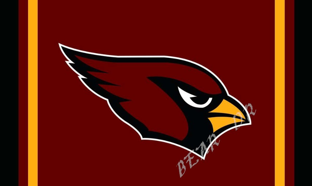 NFL Arizona Cardinals flag 3ftx5ft Banner 100D polyester flag metal eyelets