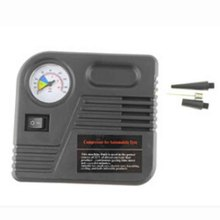 2017 New Portable Car Air Pump Auto Electric Air Compressor Tire Inflator 12V 150PSI 60W With Car Jump Starter Connector LR15