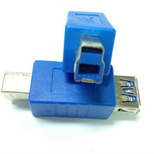 USB 3.0 converter head USB3.0 high speed female * B print adapter USB Adapter speed is close to 10 times that of USB 2.0 freeshipping high quality usb can adapter usb to can bus adapter