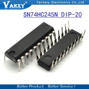 """Image 4 - 10PCS SN74HC245N DIP20 SN74HC245 מח""""ש 74HC245N מח""""ש 20 74HC245 HD74HC245P חדש ומקורי IC"""